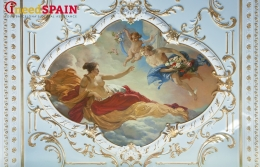 XIV-century frescos found during restoration of one of the Barcelona mayor's offices
